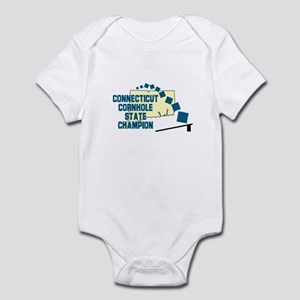 Connecticut Cornhole State Ch Infant Bodysuit
