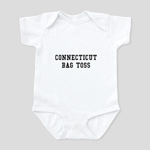 Connecticut Bag Toss Infant Bodysuit