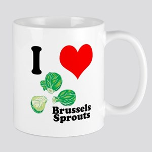 I Heart (Love) Brussels Sprouts Mug