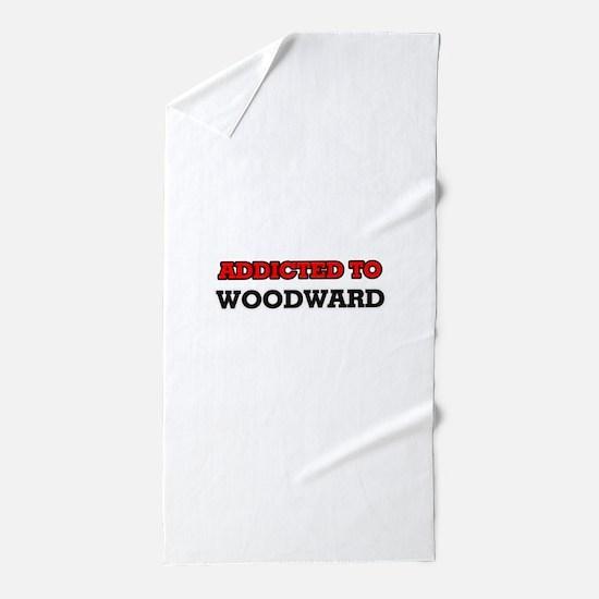 Addicted to Woodward Beach Towel