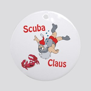 Santa Claus Ornament (Round)