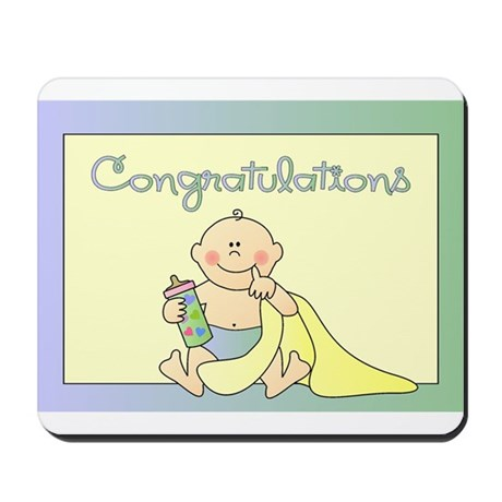 Congratulations Mousepad
