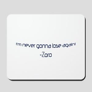 Zoro Mousepad