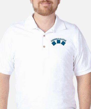 Cornhole Allstar Golf Shirt