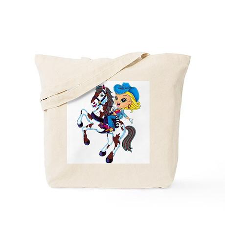 Cute Cowgirl Tote Bag