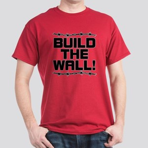 BUILD THE WALL! Dark T-Shirt