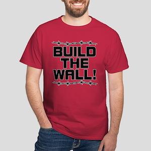 c29f86b492a Donald Trump Build The Wall T-Shirts - CafePress