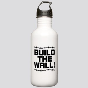 BUILD THE WALL! Stainless Water Bottle 1.0L