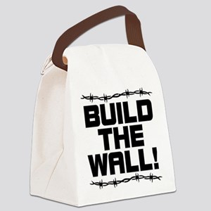 BUILD THE WALL! Canvas Lunch Bag