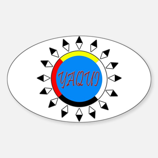 Yaqui Oval Decal
