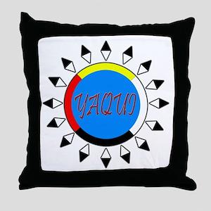 Yaqui Throw Pillow