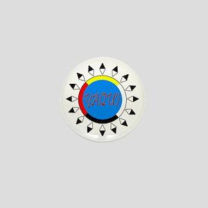 Yaqui Mini Button