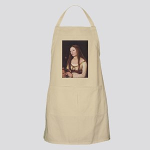 Medieval Gothic Woman BBQ Apron
