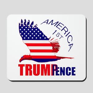 Trump Pence America 1st Mousepad