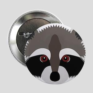 "Raccoon 2.25"" Button"