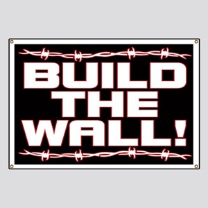 Build The Wall! Banner