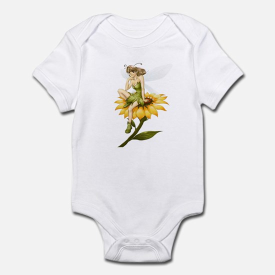 Fairy on a Sunflower Infant Bodysuit