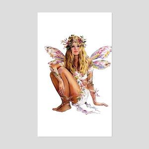 Beautiful Fairy Rectangle Sticker