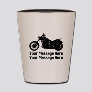 Personalize It, Motorcycle Shot Glass
