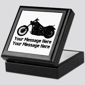 Personalize It, Motorcycle Keepsake Box