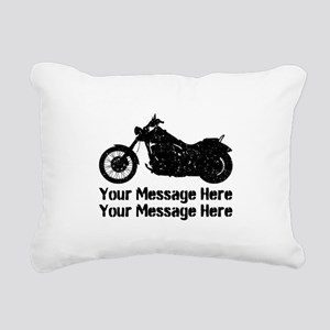 Personalize It, Motorcycle Rectangular Canvas Pill