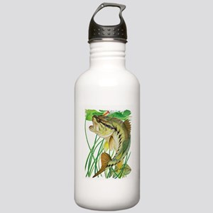 Largemouth Bass with L Stainless Water Bottle 1.0L