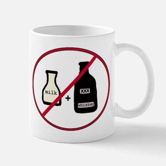no milk + whiskey Mugs
