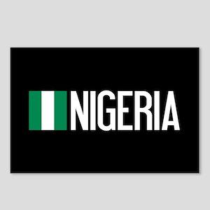 Nigeria: Nigerian Flag & Postcards (Package of 8)