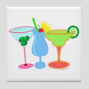 Cocktails! Tile Coaster