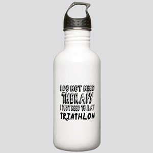 I Just Need To Play Tr Stainless Water Bottle 1.0L