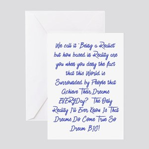 Dreams Do Come True Greeting Cards