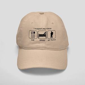 Eat Sleep Air Force - Support Niece Cap