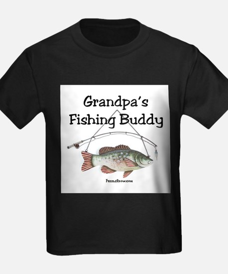 Grandpa's Fishing Buddy T-Shirt