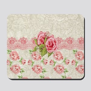 Meaning Pink Roses Mousepad