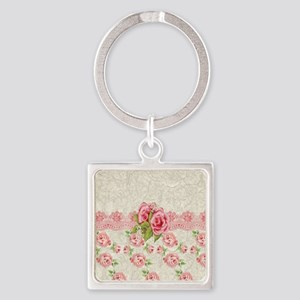 Meaning Pink Roses Keychains