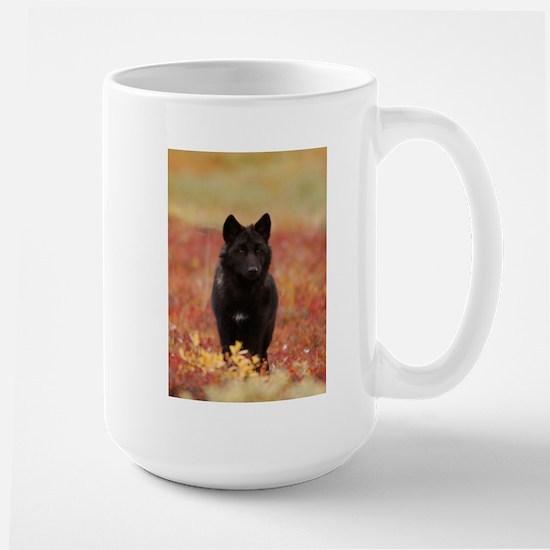 Autumn Wolf Large Mug