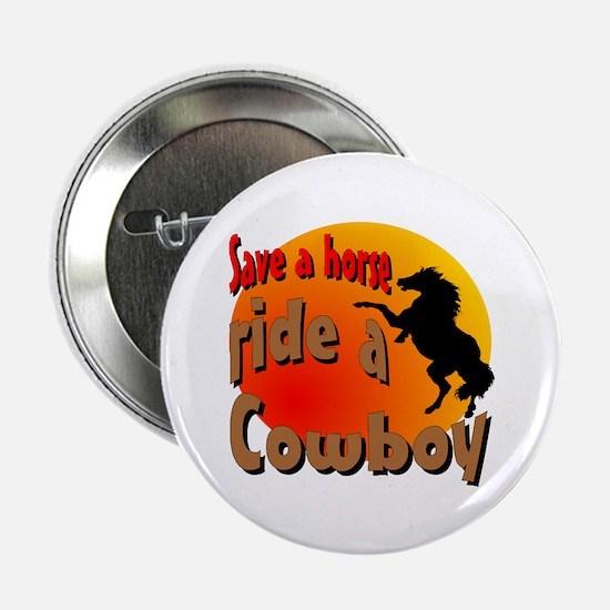Ride a Cowboy Button