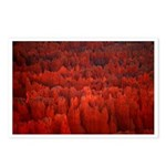 Bryce Canyon Flames Postcards (Package of 8)