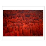 Bryce Canyon Flames Small Poster