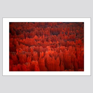 Bryce Canyon Flames Large Poster