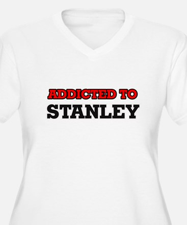 Addicted to Stanley Plus Size T-Shirt