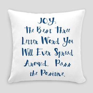 Joy Everyday Pillow