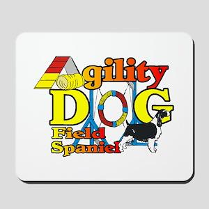 Field Spaniel Agility Mousepad