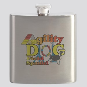Field Spaniel Agility Flask