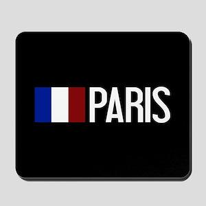 France: French Flag & Paris Mousepad