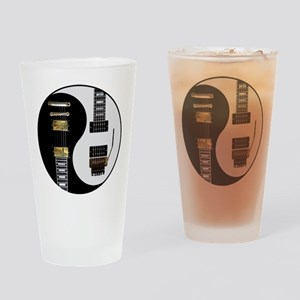 Yin Yang - Guitars Drinking Glass