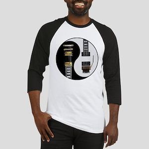 Yin Yang - Guitars Baseball Jersey