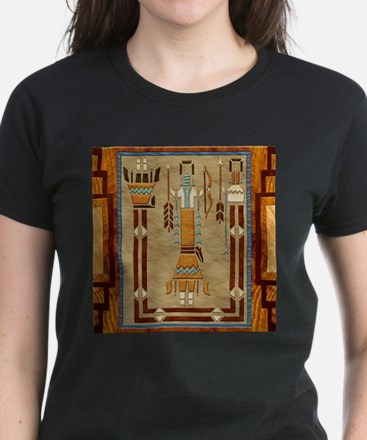 Harvest Moons Navajo Sand Painting T-Shirt