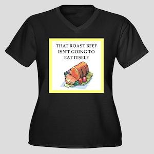 roast beef Plus Size T-Shirt
