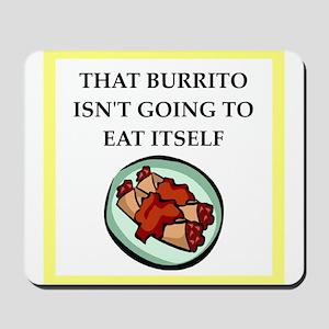 burrito Mousepad